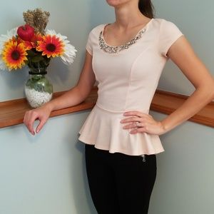 CHARLOTTE RUSSE, pink top!